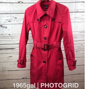 Tommy Hilfiger XS Azalea Trenchcoat Belted Lined